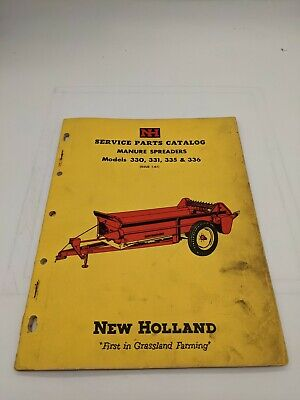 New Holland Service Parts Catalog Manure Spreader 330 331 335 336 1-61
