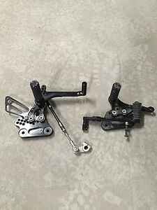 Gen 1 Hayabusa rear sets