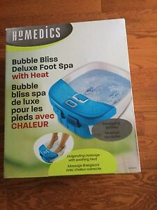 Deluxe foot spa - new