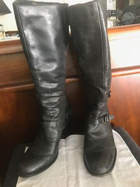 f1d974bf08f5 Belstaff Trialmaster 1955 black boots Size 40