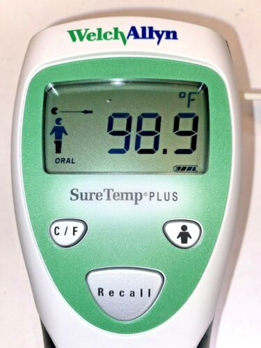 Welch Allyn SureTemp 690 Thermometer, Works Well, No Probe, No Blue Well Holder.