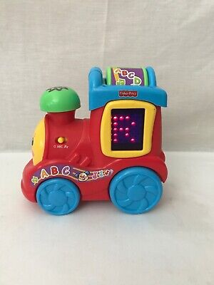 Fisher Price Laugh and Learn Musical ABC Train with Alphabet, Numbers and Songs