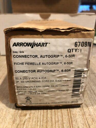 Arrow Hart by Eaton 6709N Connector Auto Grip NIB