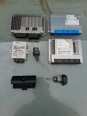 BMW E46 3 Series 318i Ci Compact N42 Auto ECU Lock Set EWS Ignition Barrel 1 Key