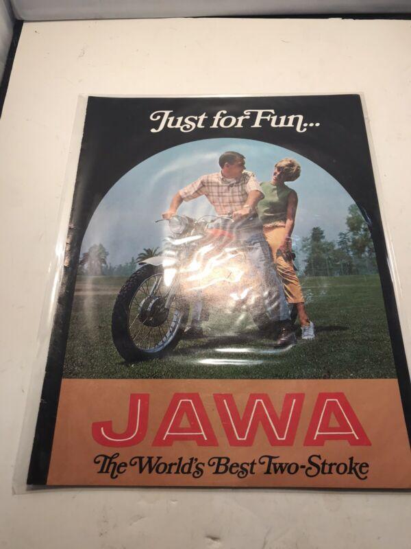 Jawa Motorcycle Advertisement