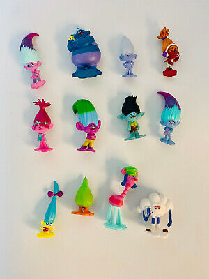 Troll Cake Toppers, Party Props, Great for Kids Birthday!