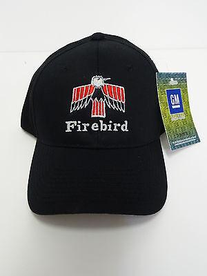 GM LICENSED PONTIAC FIRST GENERATION FIREBIRD HAT BLACK