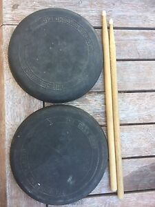 Drum pads, drum sticks and book Kirwan Townsville Surrounds Preview