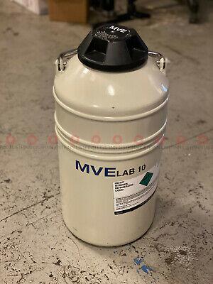 Mve Lab 10 Liter Cryogenic Container For Liquid Nitrogen