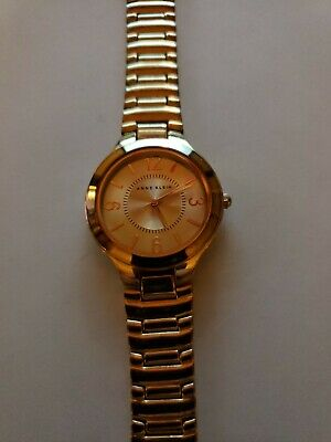 Anne Klein Gold Tone Stainless Women's Watch Free Shipping