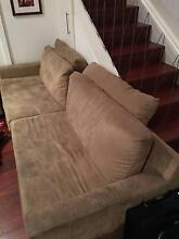 2 Seater Lounge with Chaise. In good condition. Leichhardt Leichhardt Area Preview