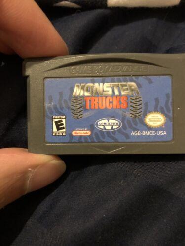 Monster Trucks Nintendo Game Boy Advance, 2004  - $5.00