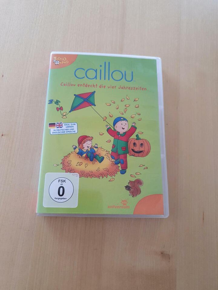 DVD: Caillou entdeckt die 4 Jahreszeiten in Gescher