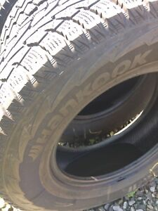 4 winter tires (17inch)  for truck