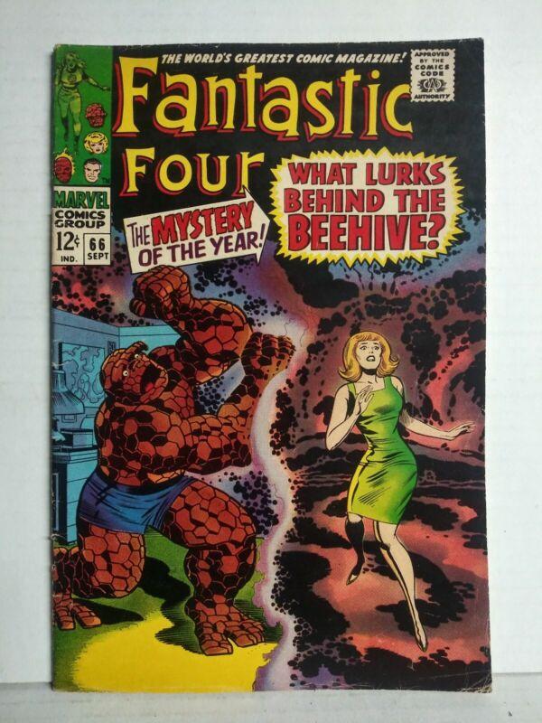 Fantastic Four #66 Origin of Him