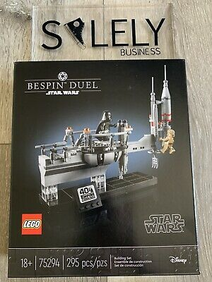LEGO Star Wars 75294 Bespin Duel Empire Strikes Back 40th Anniversary Exclusive