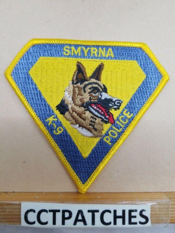 SMYRNA, DELAWARE POLICE K-9 UNIT SHOULDER PATCH
