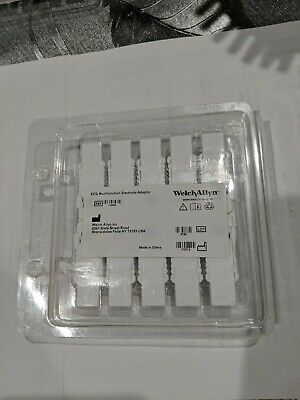Welch Allyn Ecg Multifunction Electrode Adapter 10 Each - 715006