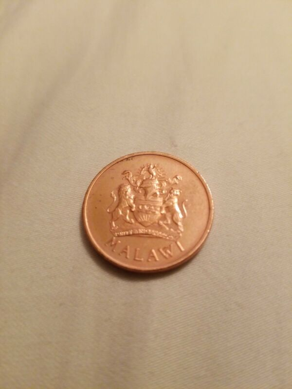1995 MALAWI 2 TAMBALA COIN