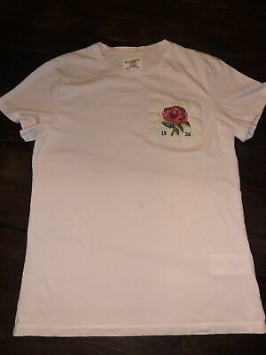 Kent & Curwen 1926 Rose Tee Size XS David Beckham Collab Cotton T Shirt