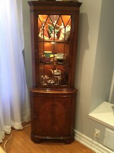 Antique Corner Cabinet, 1950