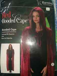 Halloween Fancy Dress Hooded Cape Raby Campbelltown Area Preview