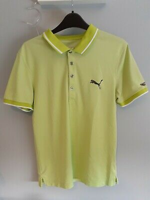 puma golf polo shirt (small)