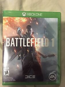 Battlefield 1 for Xbox One. Never opened.