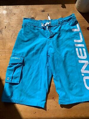 O'Neill Boys Blue Shorts Size 164 Age 13