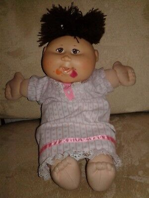 Play Along Xavier Roberts Cabbage Patch Kids Asian Doll with teeth Orig. gown (Asian Cabbage Patch Doll)