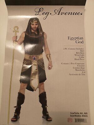Costume egizio uomo M-L SET COMPLETO Nuovo mai indossato