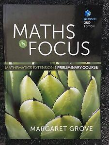 MATH IN FOCUS: Mathematics Extension1 -Preliminary Course + NelsonNet Homebush Strathfield Area Preview