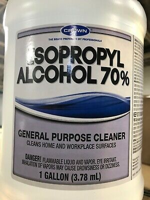 New 70 Isopropyl Alcohol All Purpose Cleaning Sanitizer