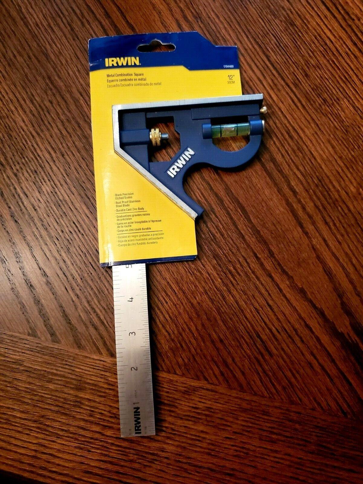 IRWIN Square Combination 12 Inch Metal Body Blue CHN 1794469