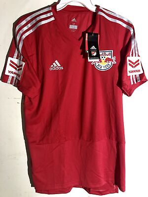 the latest 12cc4 5a3a0 Adidas MLS Jersey New York Red Bulls Team Red sz M