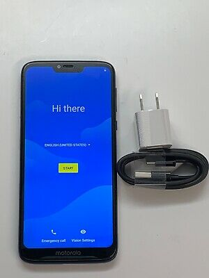 Motorola Moto G7 Power XT1955-5 Metro PCS GSM Unlocked Blue 32GB Smartphone 7/10