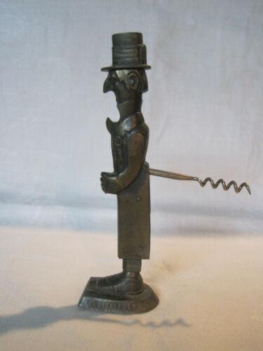 Vintage 1930s Demley Old Snifter corkscrew bottle opener made by Heller