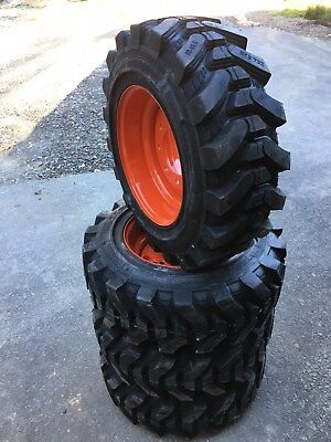4-10-16.5 Hd Skid Steer Tires For Kubota Ssv65 - Camso Sks732-10x16.5- 2932nd