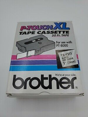 Brother P-Touch TX-1511 Tape Cassette 1