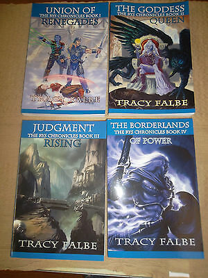 The Rys Chronicles complete 4-book fantasy series signed by author