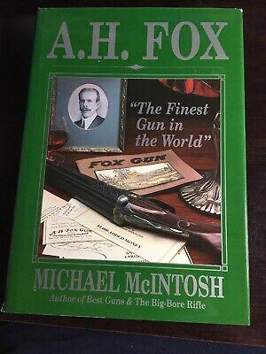 A.H. Fox Autographed
