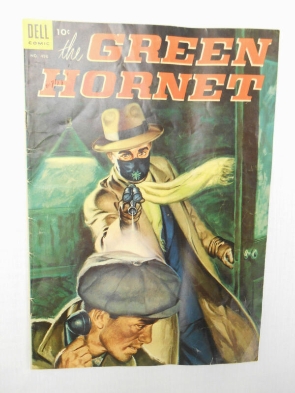 VINTAGE 1953 DELL COMIC THE GREEN HORNET #496 COMIC BOOK **