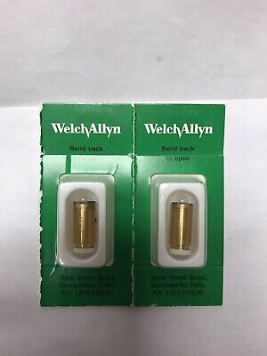 Lot 2 New Welch Allyn Genuine 04900-u One Bulb For 11720 11730 And 11735