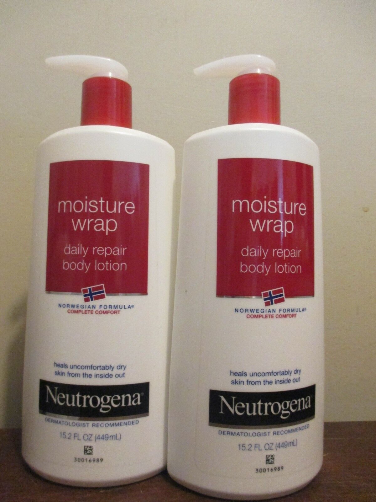 Neutrogena Norwegian Formula Moisture Wrap Daily Repair Bod