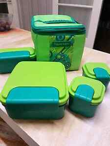 Tupperware- lunch box & 4x containers Altona Hobsons Bay Area Preview