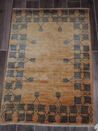 4x3ft. Rare Afghan Fine Quality Chobi Wool Rug
