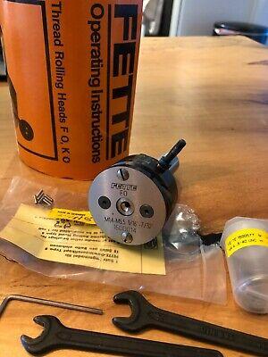 Fette Thread Rolling Head Axial Type Model F0 34 Shank