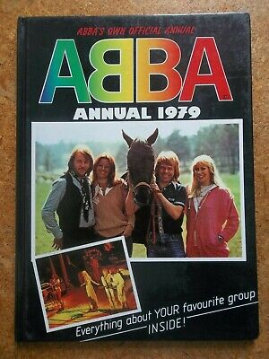 Official ABBA ANNUAL 1979 - unclipped - excellent condition