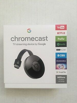 Google Chromecast  2Nd Generation  Digital Hd Media Streamer   Black