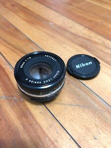 Nikon Pancake Lens Series E 50mm 1 : 1.8